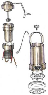 Coffee Maker Exploded : /files/images/Exploded View Drawing