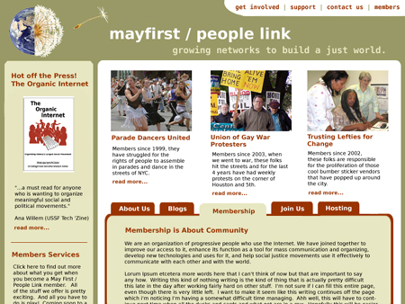 mayfirst / people link website